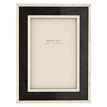 "Buy John Lewis Mira Photo Frame, 4 x 6"", Black Online at johnlewis.com"