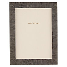 "Buy John Lewis Fine Stripe Photo Frame, 5 x 7"" Online at johnlewis.com"
