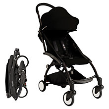 Buy Babyzen Yoyo 6 Month+ Pushchair Package, Black Online at johnlewis.com