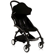 Buy Babyzen Yoyo Birth Pushchair and Carrycot Package, Black Online at johnlewis.com