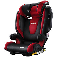 Buy Recaro Monza Nova 2 Seatfix Group 2/3 Car Seat, Ruby Online at johnlewis.com
