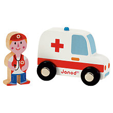Buy Janod Ambulance and Doctor Set Online at johnlewis.com