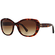 Buy Emporio Armani EA4052 Square Framed Sunglasses Online at johnlewis.com