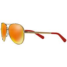 Buy Michael Kors MK5004 Aviator Metal Sunglasses Online at johnlewis.com