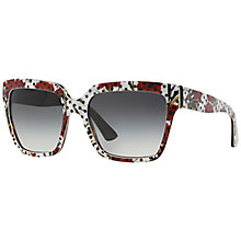 Buy Dolce & Gabbana DG4234 Square Framed Sunglasses Online at johnlewis.com