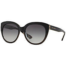 Buy Dolce & Gabbana DG4259 Round Framed Sunglasses Online at johnlewis.com