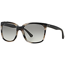 Buy Emporio Armani EA4049 Square Framed Sunglasses Online at johnlewis.com