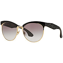 Buy Miu Miu MU54QS Stardust Bead Encrusted Sunglasses Online at johnlewis.com
