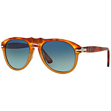 Buy Persol PO0649 Polarised Aviator Sunglasses Online at johnlewis.com