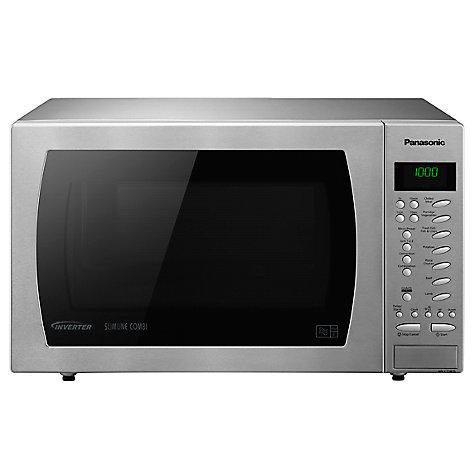 Buy Panasonic Nn Ct585s Freestanding Combination Microwave