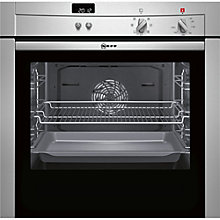 Buy Neff B44S42N3GB Integrated Single Electric Oven, Stainless Steel Online at johnlewis.com