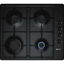 Buy Neff T26BR46S0 Gas Hob, Black Online at johnlewis.com