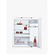Buy Neff KI1213F30G Integrated Larder Fridge, A++ Energy Rating, 54.1cm Wide, White Online at johnlewis.com