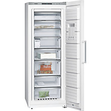 Buy Siemens GS58NAW41 Freestanding Freezer, A+++ Energy Rating, 70cm Wide, White Online at johnlewis.com
