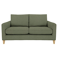 Buy John Lewis Bailey Fixed Cover Medium Sofa, Quinn Blue Grey Online at johnlewis.com