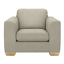 Buy John Lewis Felix Armchair, Evora Putty Online at johnlewis.com