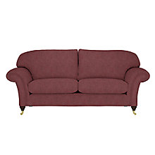 Buy John Lewis Beaumont Sofa Range, Arden Burgundy Online at johnlewis.com