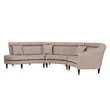 Buy John Lewis Paramount LHF Corner Sofa, Daytona Sable Online at johnlewis.com