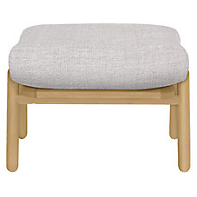 Buy John Lewis Johan Footstool, Finn Smoke Online at johnlewis.com