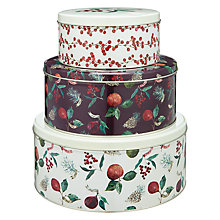 Buy John Lewis Midwinter Tins Online at johnlewis.com