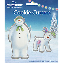 Buy Creative Party The Snowman & The Snowdog Cutters Online at johnlewis.com
