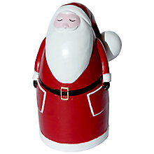 Buy Creative Party Different Perspective Father Christmas Cake Decoration Online at johnlewis.com