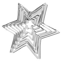 Buy John Lewis Star Stacked Cookie Cutter Set Online at johnlewis.com