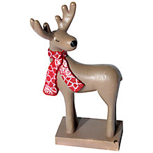 Buy Creative Party Different Perspective Deer Cake Topper Online at johnlewis.com