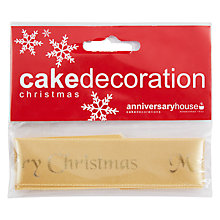 Buy Creative Party Plaque with Ribbon, Gold Online at johnlewis.com