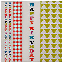 Buy Talking Tables Birthday Bash Napkins Online at johnlewis.com