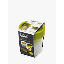 Buy Joseph Joseph GoEat Compact 2-in-1 Soup Pot, Green Online at johnlewis.com
