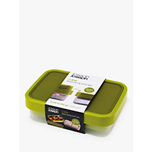 Buy Joseph Joseph GoEat Compact 2-in-1 Lunch Box, Green Online at johnlewis.com