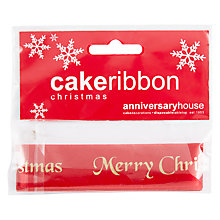 Buy Creative Party Plaque with Ribbon, Red Online at johnlewis.com