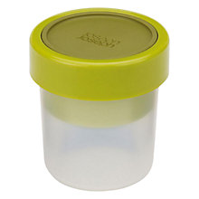 Buy Joseph Joseph GoEat Compact 2-in-1 Snack Pot, Green Online at johnlewis.com