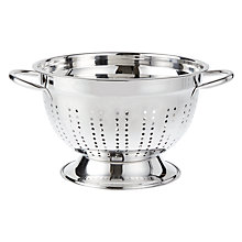 Buy John Lewis Footed Colander, 25cm Online at johnlewis.com