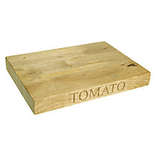Buy John Lewis Croft Collection Tomato Board Online at johnlewis.com