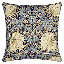 Buy Morris & Co Pimpernel Cushion, Blue Online at johnlewis.com