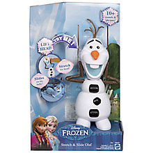 Buy Disney Frozen Stretch and Slide Olaf Online at johnlewis.com