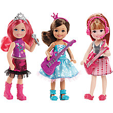 Buy Barbie Rock 'n' Royals Doll, Assorted Online at johnlewis.com