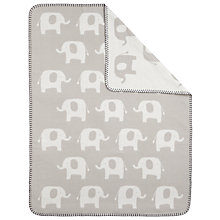 Buy John Lewis Baby's Elephant Blanket Online at johnlewis.com