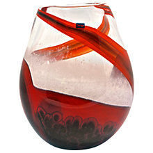 Buy Svaja Red Sands Short Vase Online at johnlewis.com