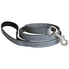 Buy Mutts & Hounds Wide Leather Dog Lead Online at johnlewis.com