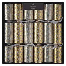 Buy John Lewis Boutique Star Christmas Crackers, Pack of 6 Online at johnlewis.com
