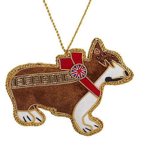 Corgi themed christmas gifts John lewis christmas ornaments