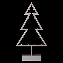 Buy The Snowman 38cm BO Tree LED Light, Warm White Online at johnlewis.com