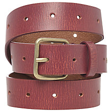 Buy White Stuff Celeste Belt, Red Online at johnlewis.com