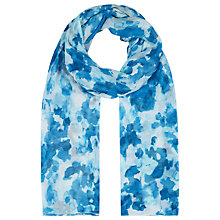 Buy Kaliko Sweet Pea Scarf, Blue Online at johnlewis.com