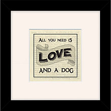 Buy East of India - All You Need Is Love & A Dog, 27 x 27cm Online at johnlewis.com
