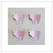 Buy Daisy Maison - Oink, 25.5 x 25.5cm Online at johnlewis.com