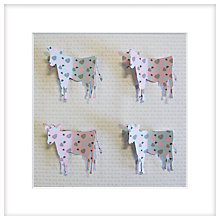 Buy Daisy Maison -  Moo & Me, 25.5 x 25.5cm Online at johnlewis.com
